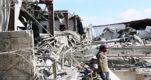غارات للعدوان السعودي دمرت مصنع الكبوس (ارشيف ـ المستقبل)