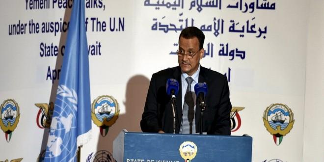 المبعوث الأممي ولد الشيخ في مؤتمر صحافي بالكويت (ارشيف ـ المستقبل)