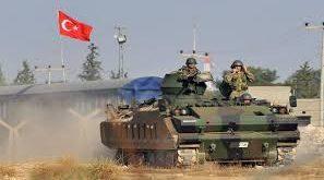 قوات تركية في منطقة الحدود السورية التركية (ارشيف)