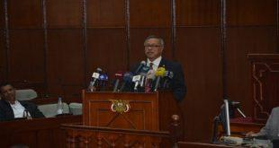 رئيس الوزراء د. عبد العزيز بن حبتور يستعرض مشروع برنامج عمل الحكومة في البرلمان اليوم (المستقبل)
