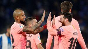 شاهد بالفيديو: برشلونة يقسو على إسبانيول ويعزز صدارته لليغا
